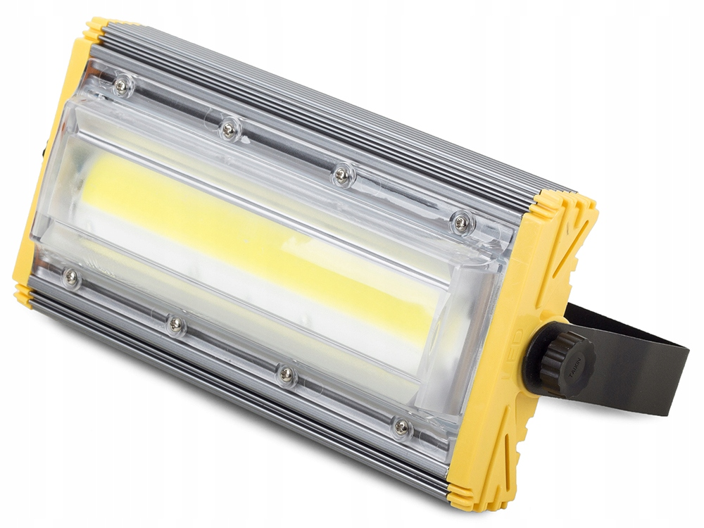 HALOGEN LAMPA NAŚWIETLACZ LED COB 50W LINIOWY 5000