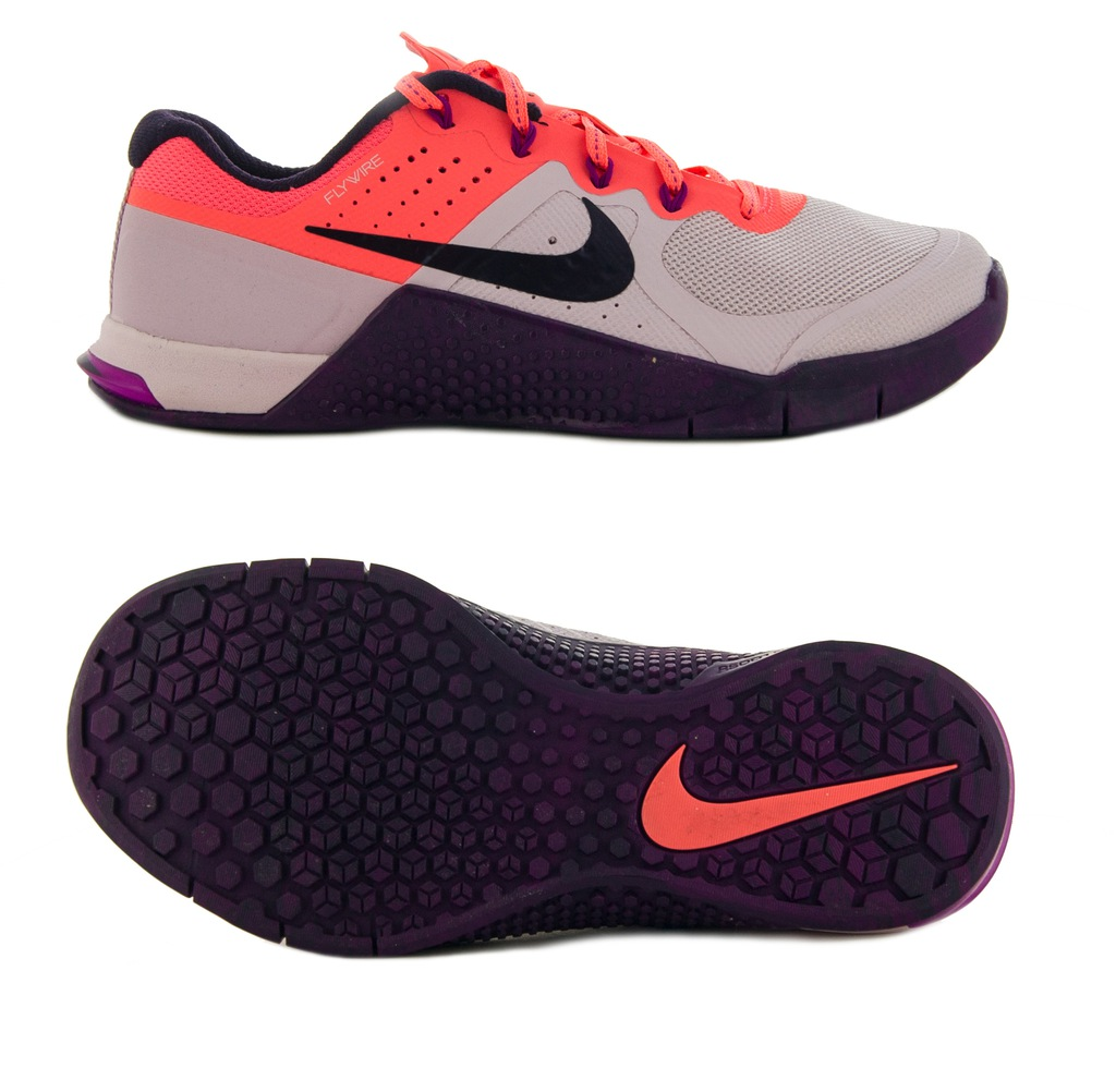 Wysoka jakość Czarne buty sportowe damskie Nike do fitnessu