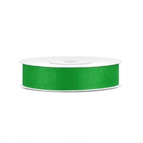 Tasiemka rypsowa 15mm/25 m - zielony