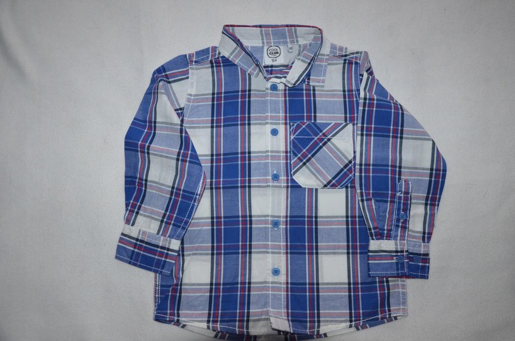Koszula w kratę Cool club roz 92