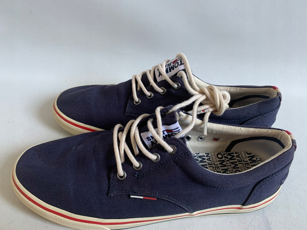 TOMMY HILFIGER TOMMY JEANS TEXTILE SNAKERS 43