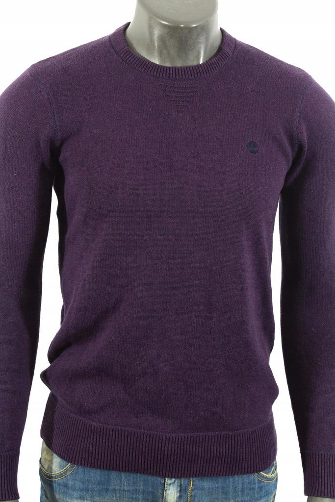 TIMBERLAND Sweterek logowany fajny do jeansów! S