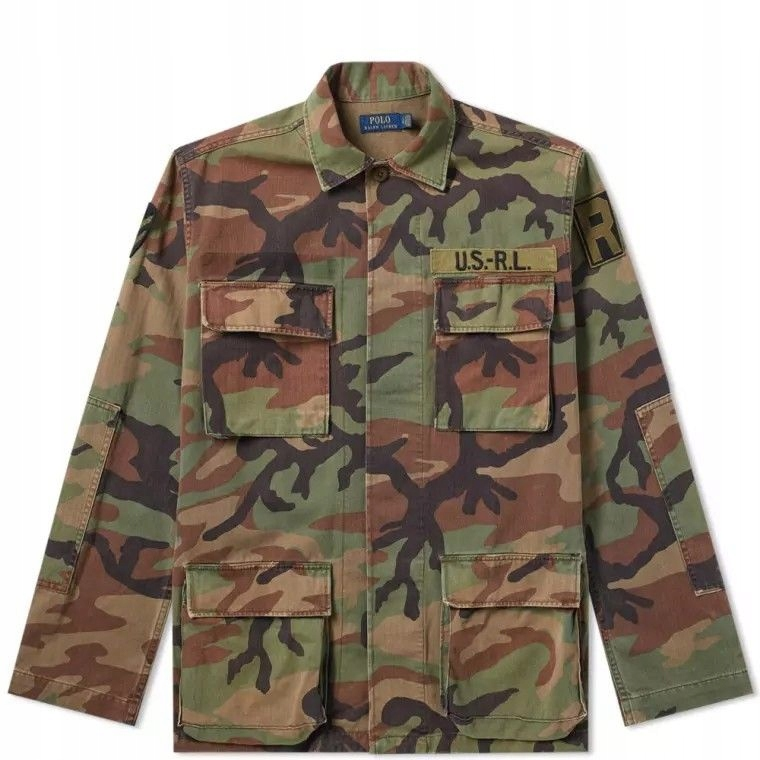 Kurtka Ralph Lauren military camo - 100% oryginał