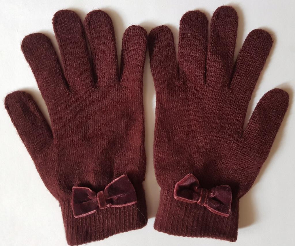 H&M - rękawiczki damskie roz. XS