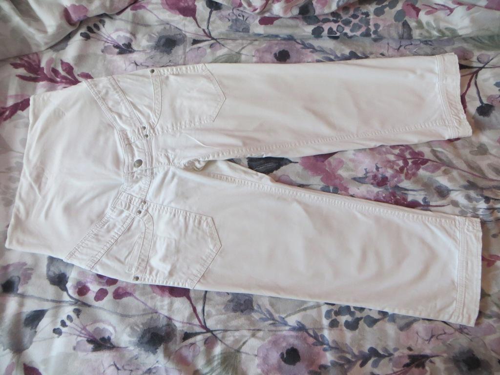 Spodnie ciążowe rybaczki 7/8 H&M MAMA r. 36