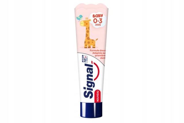 Signal Baby pasta do zębów dla dzieci 0-3 lat 50 m