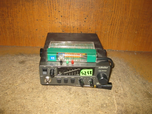 CB RADIO STABO XM 5000 - NR S248