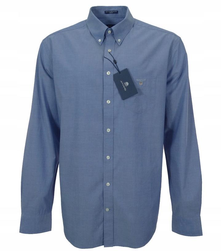 GANT koszula męska niebieska XL (43/44)