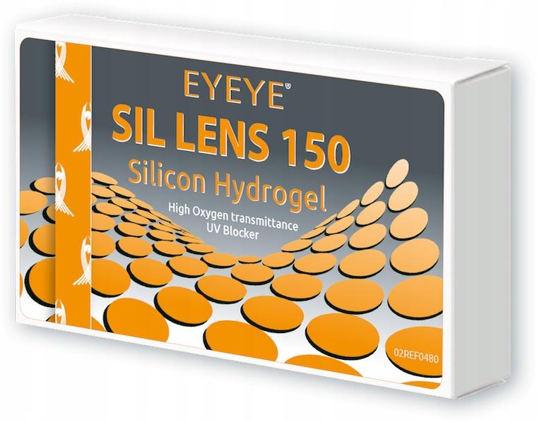 Soczewki Eyeye Sil Lens 150, 6 szt. (Moc: +4.50)