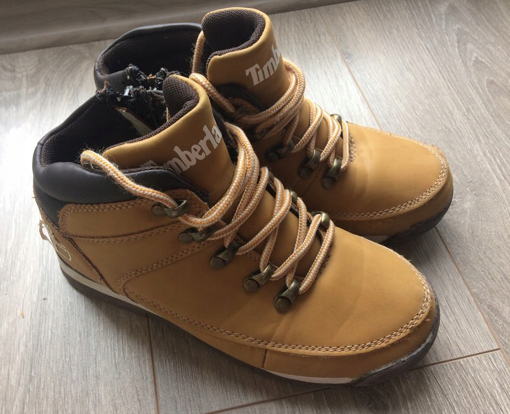 TIMBERLAND BEŻOWE TRAPERY 34