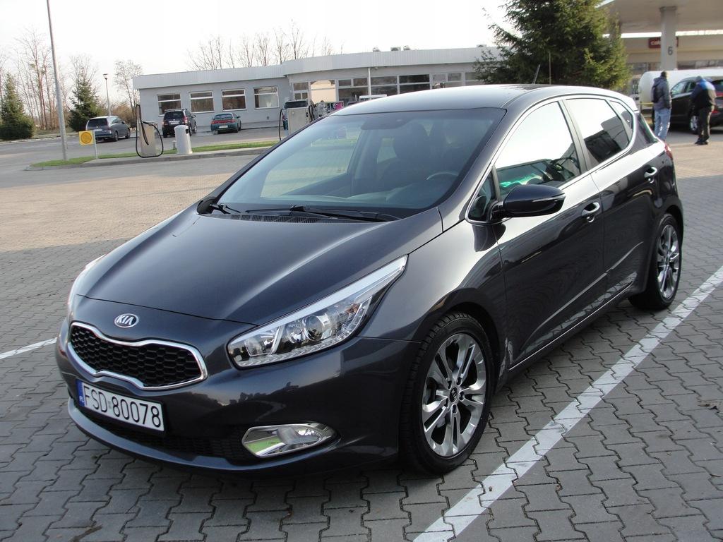 Kia Ceed 2013 Automat 1 6 Benzyna 43 Tys Km Serwis 8875779995 Oficjalne Archiwum Allegro