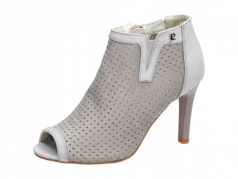 Szare sandały damskie, buty M.DASZYŃSKI SA67 8 r37
