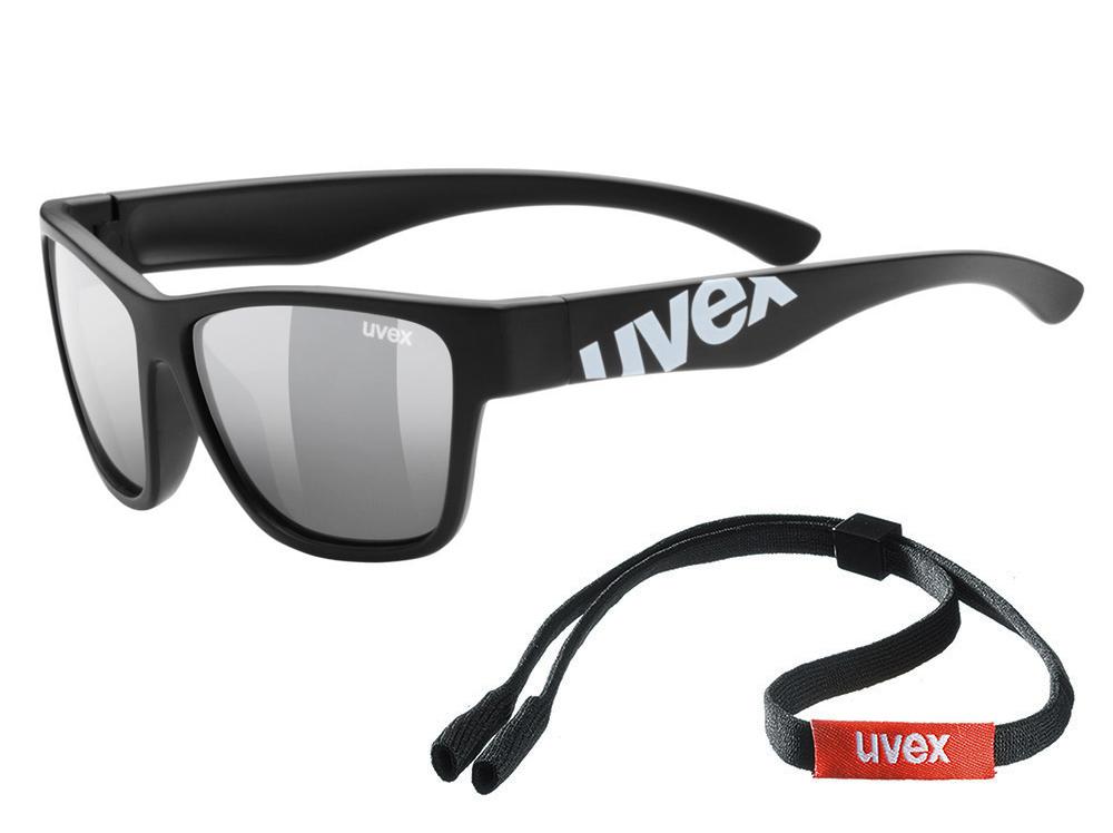 UVEX Sportstyle 508 dla dzieci Black Mat