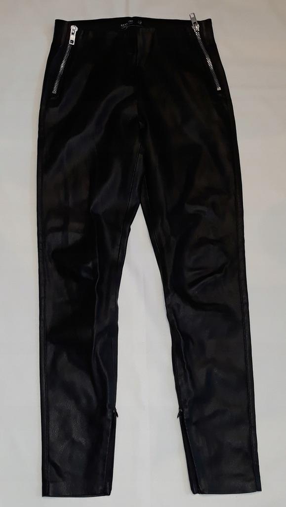 spodnie damskie RESERVED 36 eko skórka