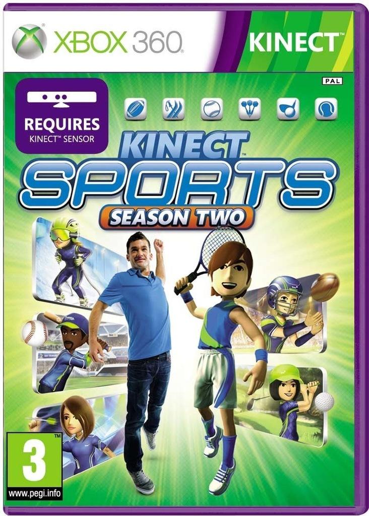 Xbox360 Kinect Sports Season Two 2 Pl 7596902812 Oficjalne Archiwum Allegro