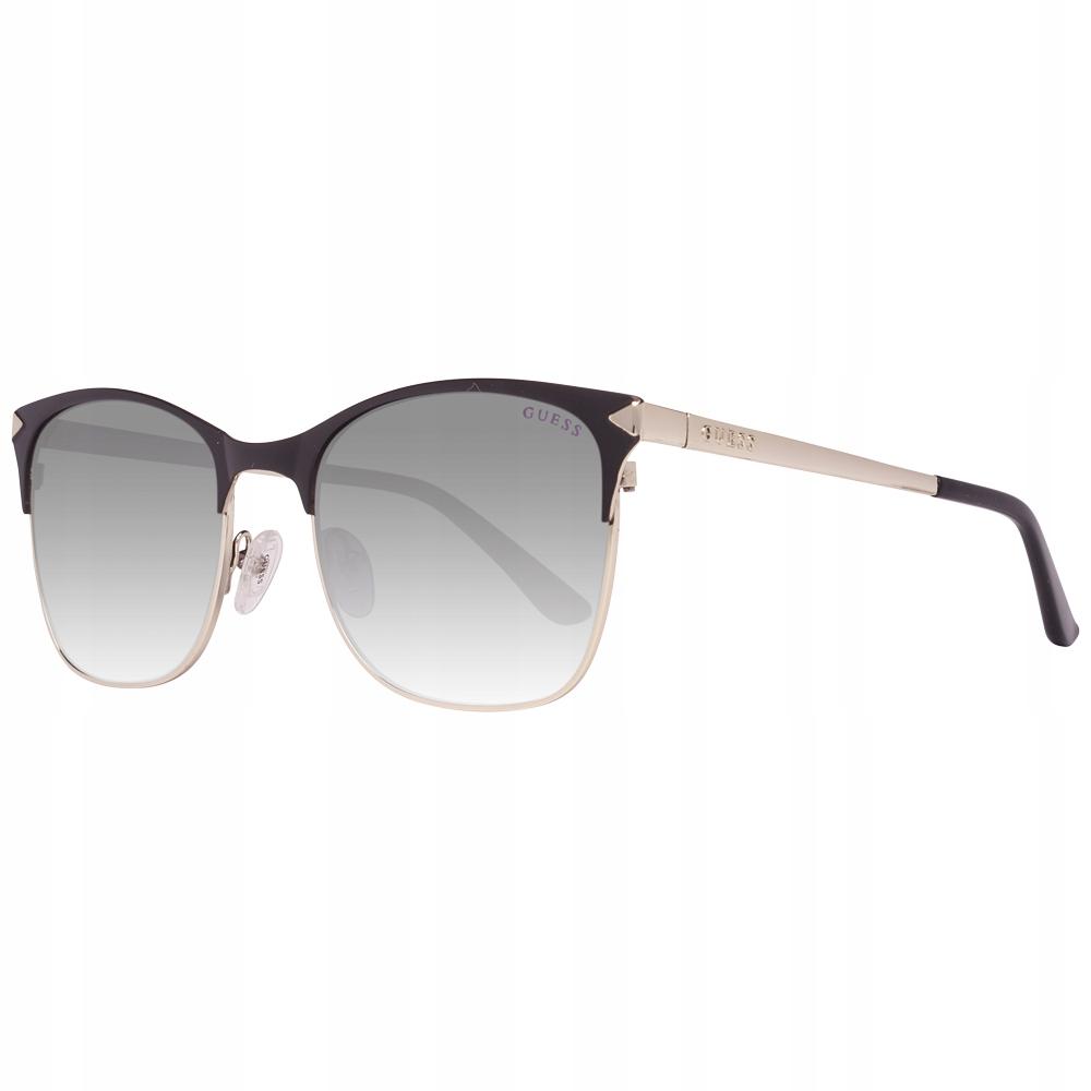 Okulary damskie Guess GU7517 Czarne Clubmaster