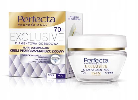 DAX PERFECTA 70+ EXCLUS KREM NUTRI UJĘDRNIANIE D/N