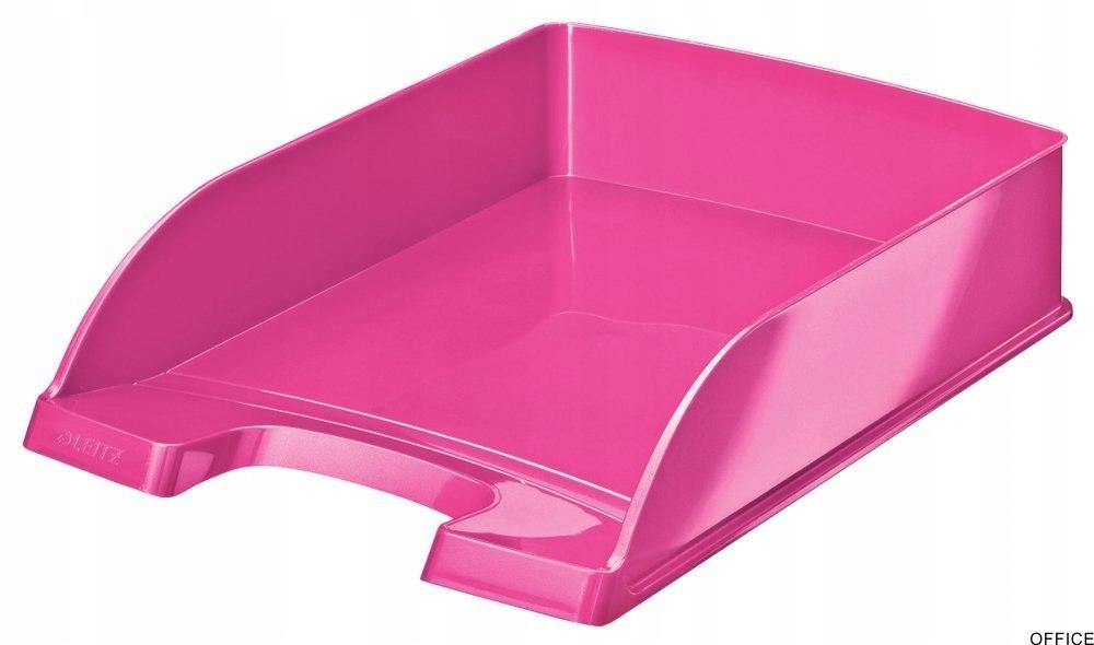 Półka na dokumenty LEITZ Plus różowa WOW 52263023
