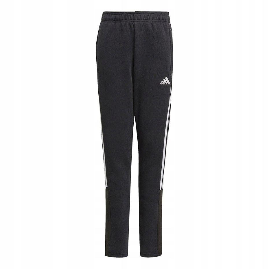 Spodnie dresowe dla dzieci adidas czarne 128 cm