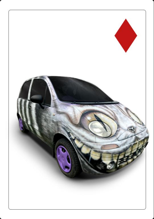 Urodzinowy samochód Dody Deawoo Matiz