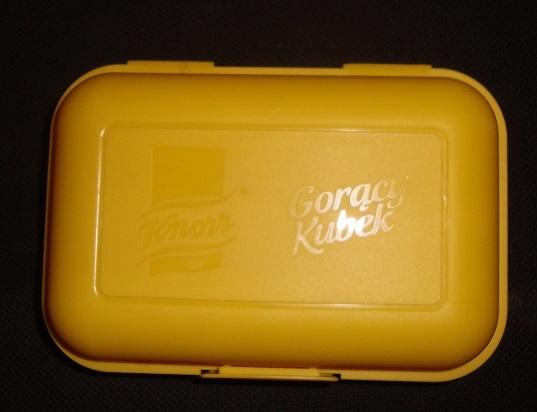 Pudełko śniadaniowe Knorr Gorący Kubek żółte