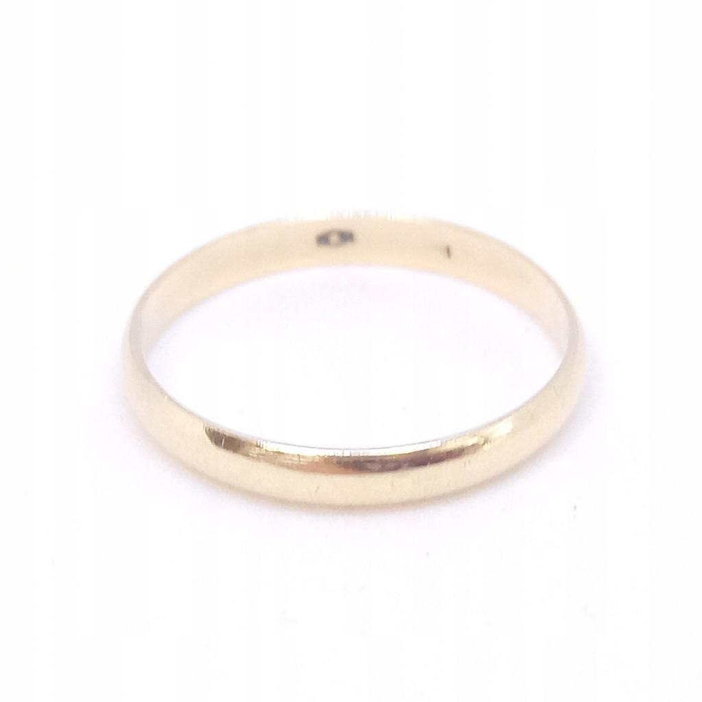 Złota obrączka | p. 585 | 1,62 g | r. 18