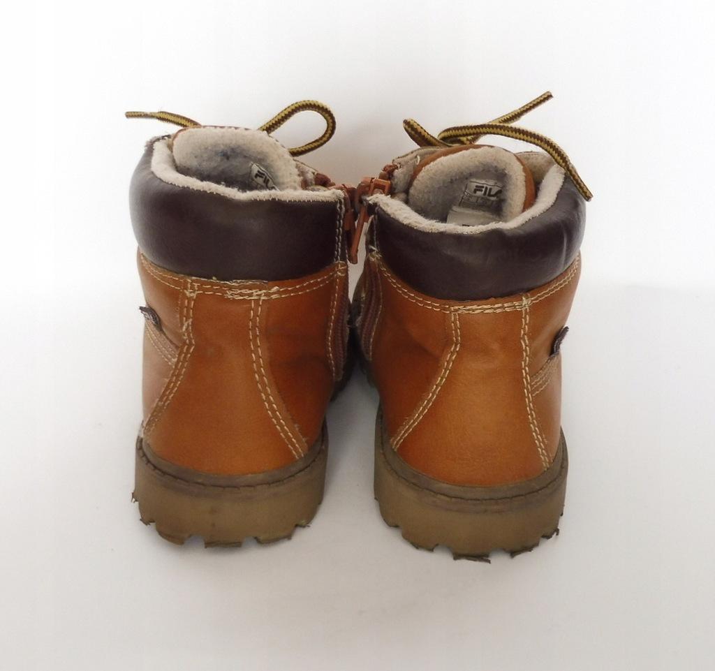 Sprzedam buty Fila r. 25 botki zimowe ocieplane gratis