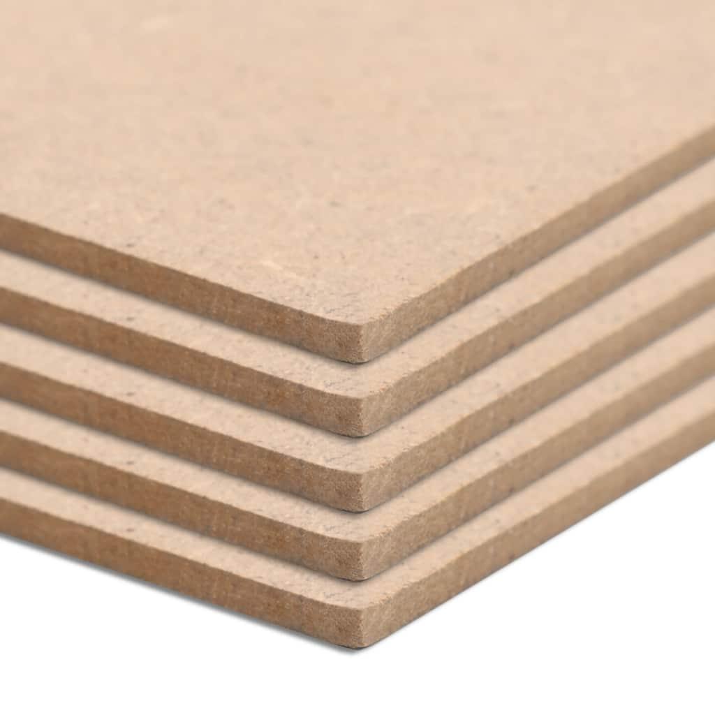 Płyty MDF, 4 szt., kwadratowe, 60 x 60 cm x 12 mm