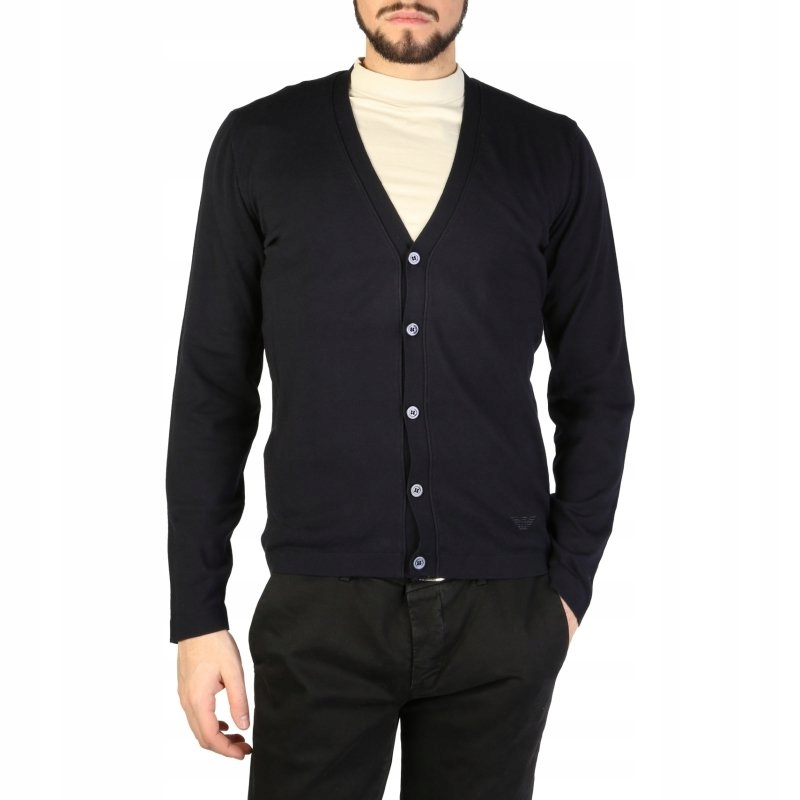 Emporio Armani 01E22M_0102M sweter męski blue 48