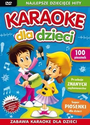 KARAOKE dla Dzieci 100 piosenek DVD po polsku