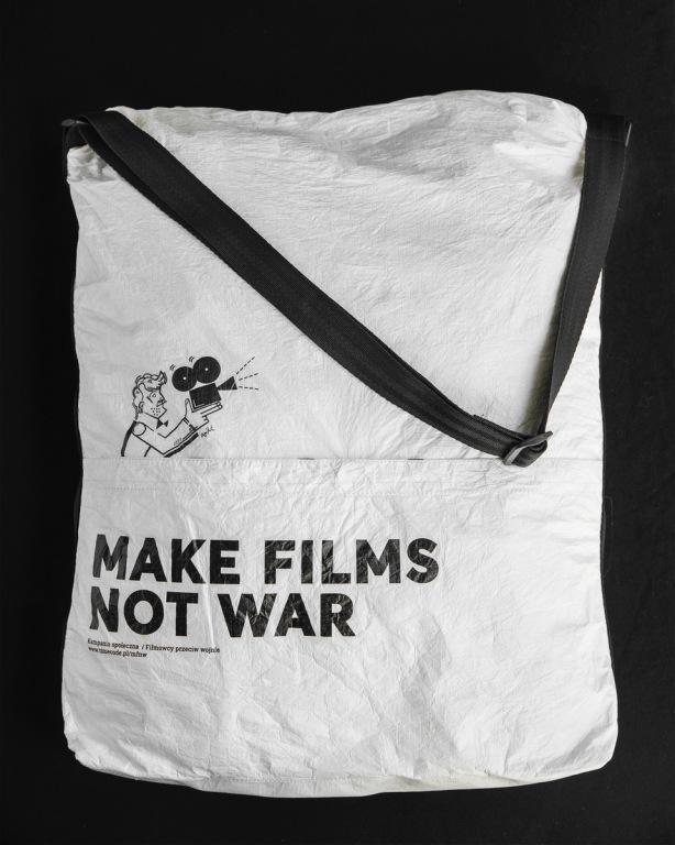 "Torba ""Make Films Not War"""