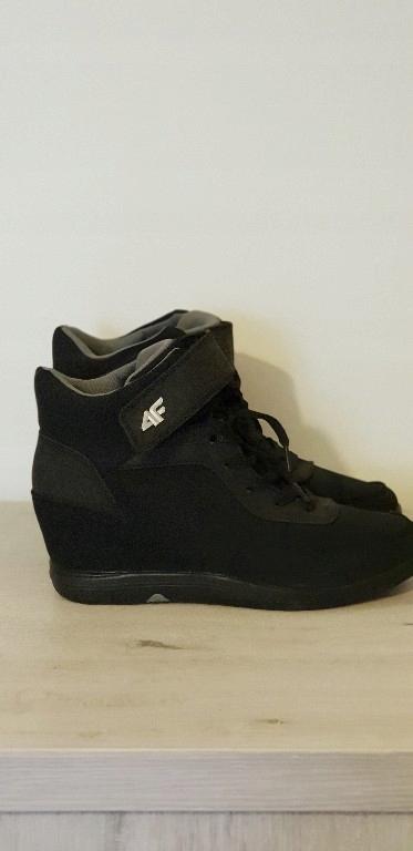 4F koturny sneakersy damskie 41 26.5 jak nowe czar