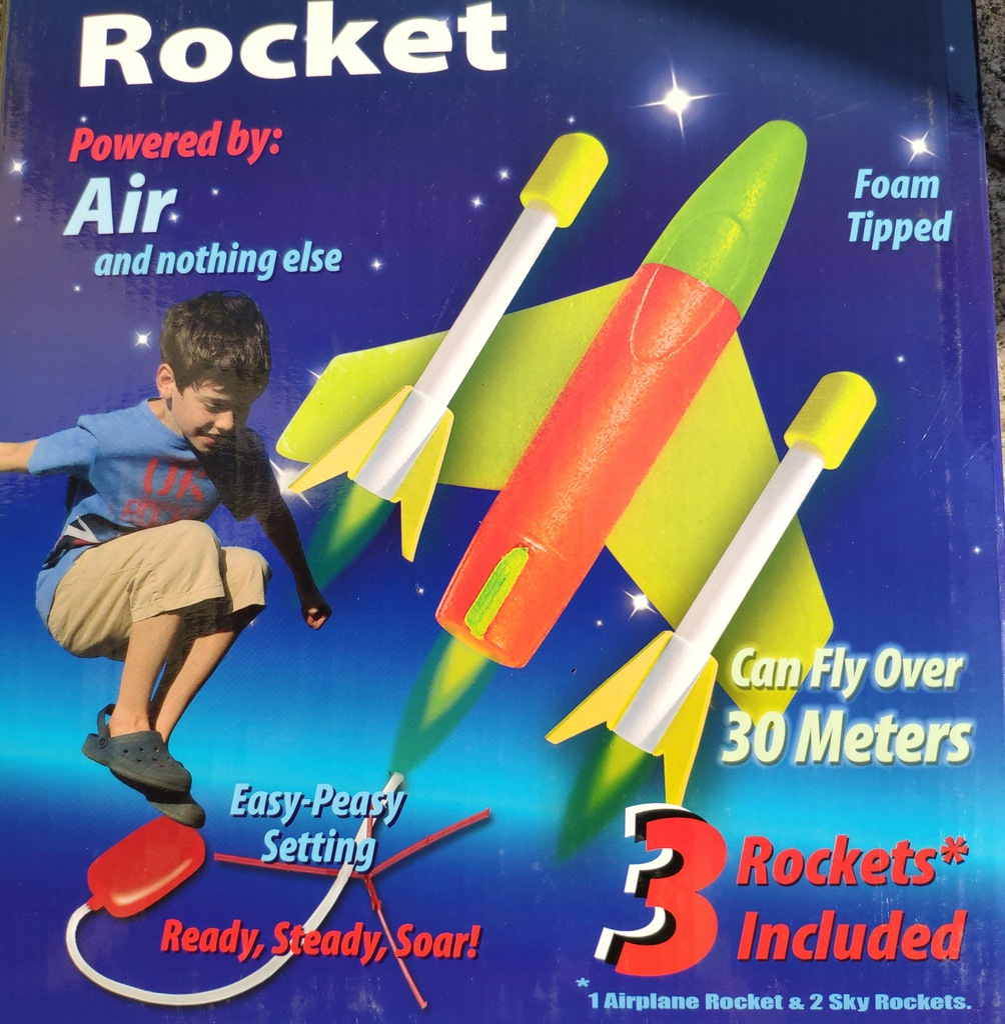 Cosmic Rocket pomysł Patent super prezent Katowice