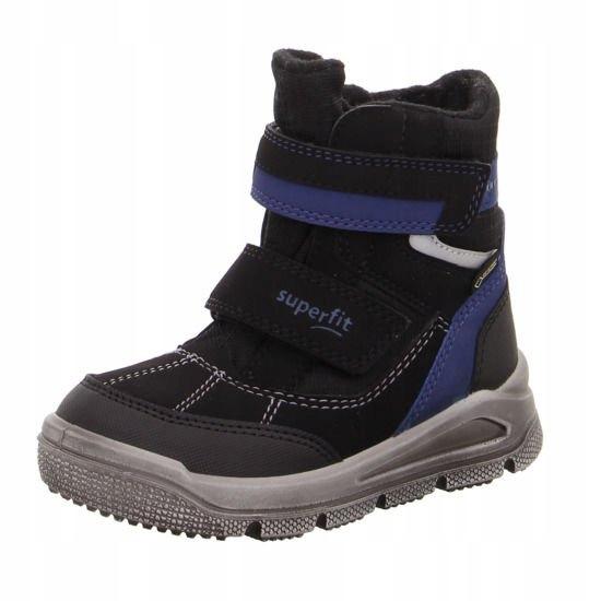 SUPERFIT-Czarne Śniegowce 5-09077-01 R 33