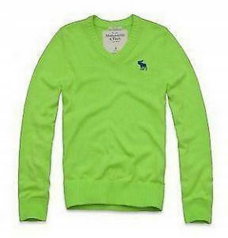 Abercrombie Hollister zielony sweter L jak M