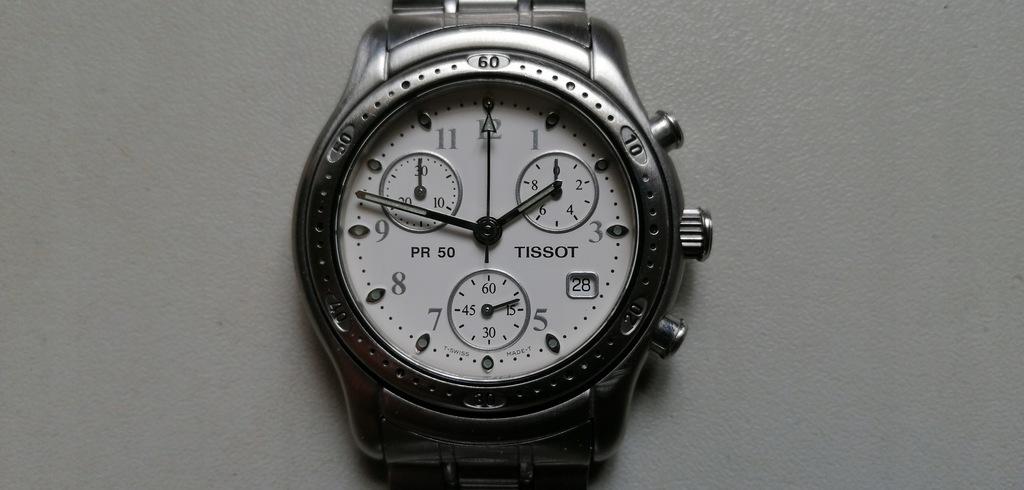 TISSOT PR 50 - chronograf zegarek