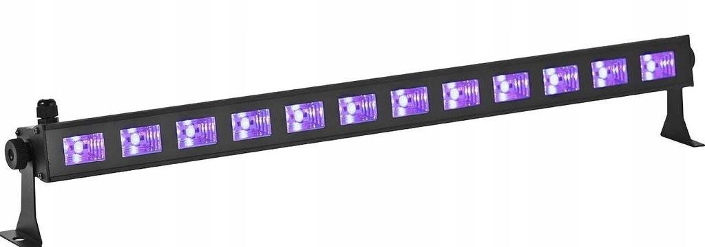 BELKA LAMPA LED UV LED 45W IMPREZA DYSKOTEKA