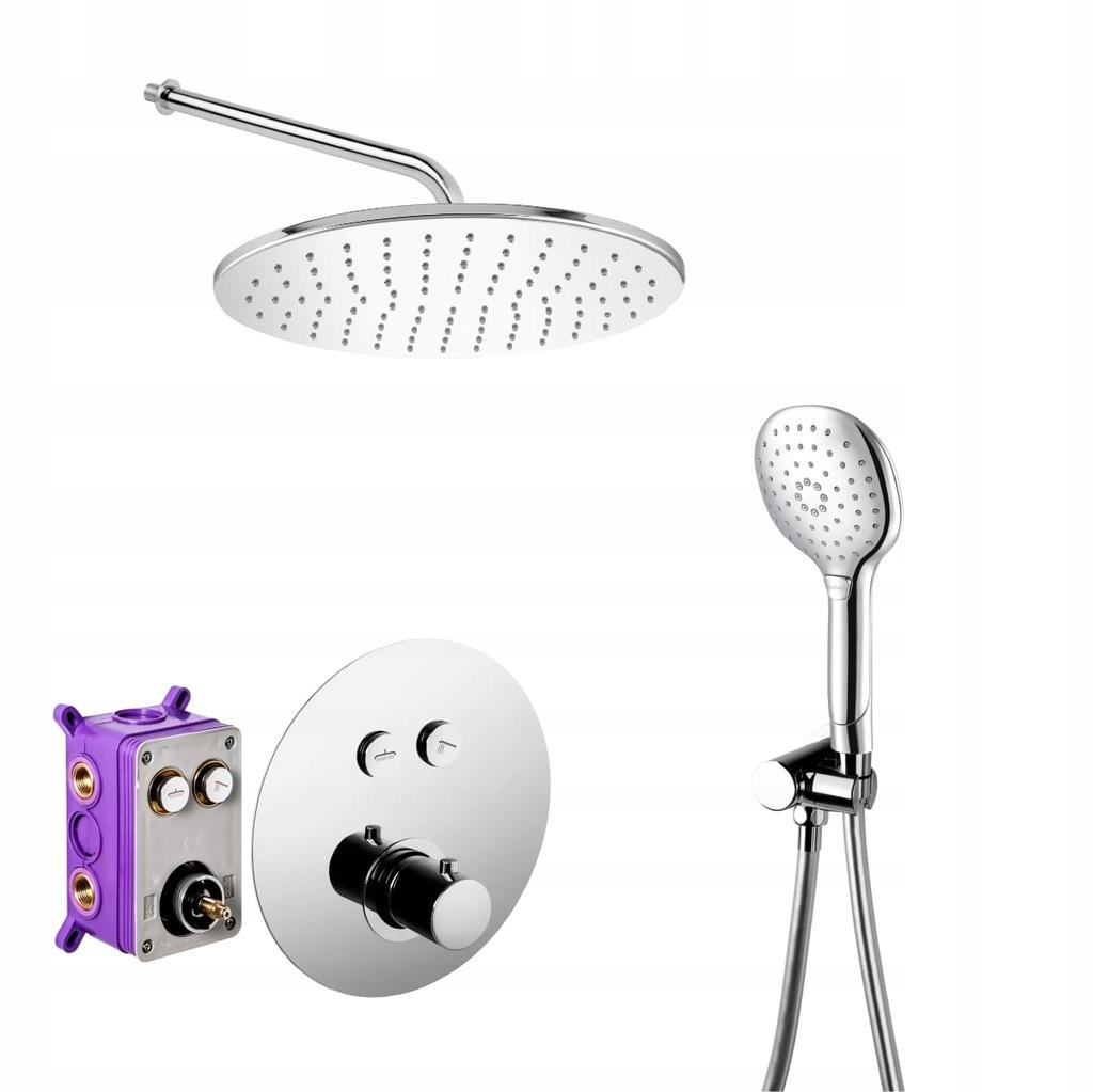 Zestaw prysznicowy PODTYNKOWY Corsan CMZ044 BOX T