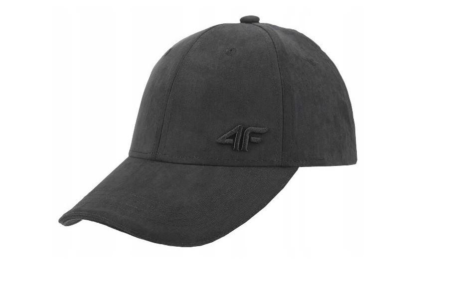 4F czapka z daszkiem męska czarna L/XL