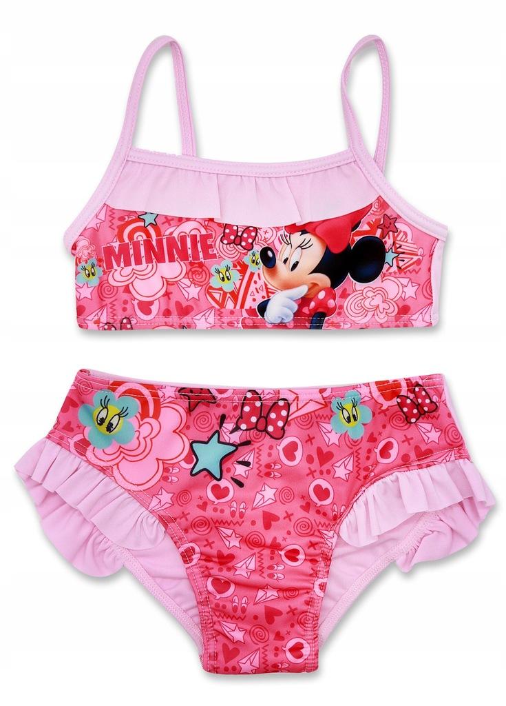 Strój kąpielowy Myszka Minnie dwuczęściowy dla dziewczynki