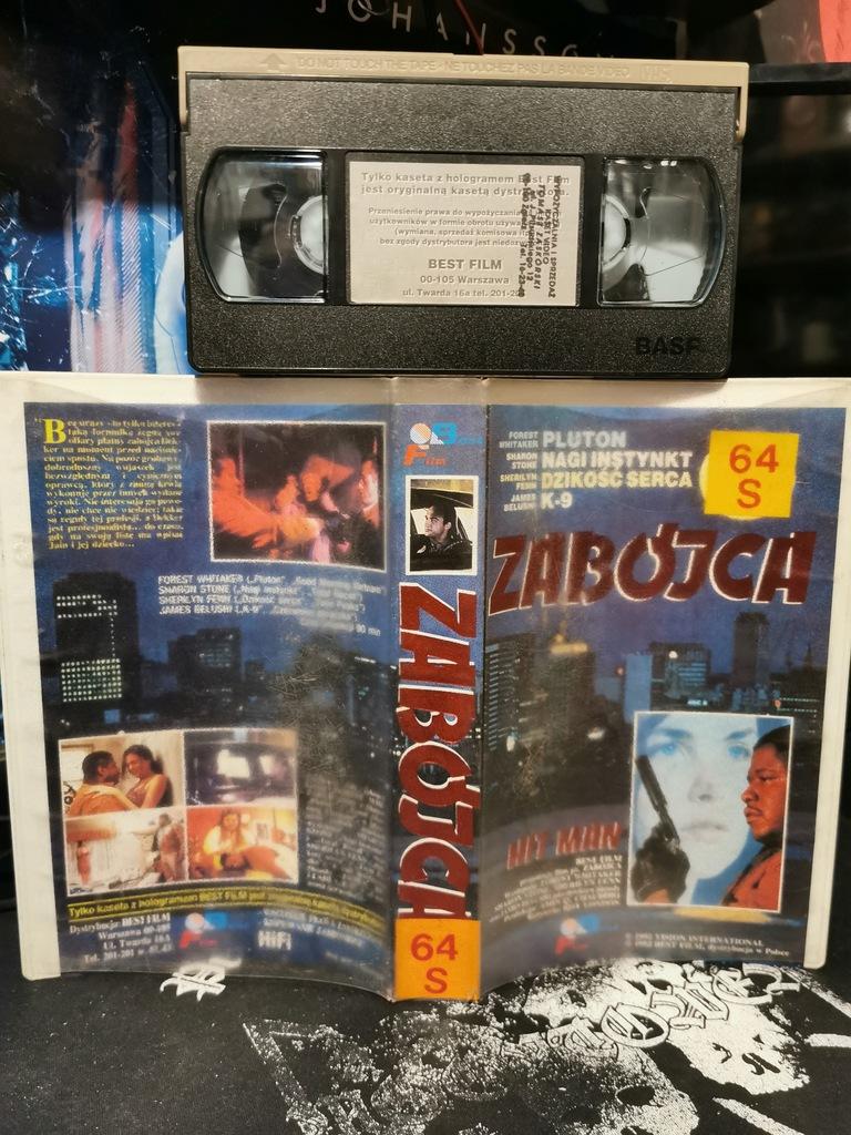 Zabójca Hitman VHS Best Film Whitaker