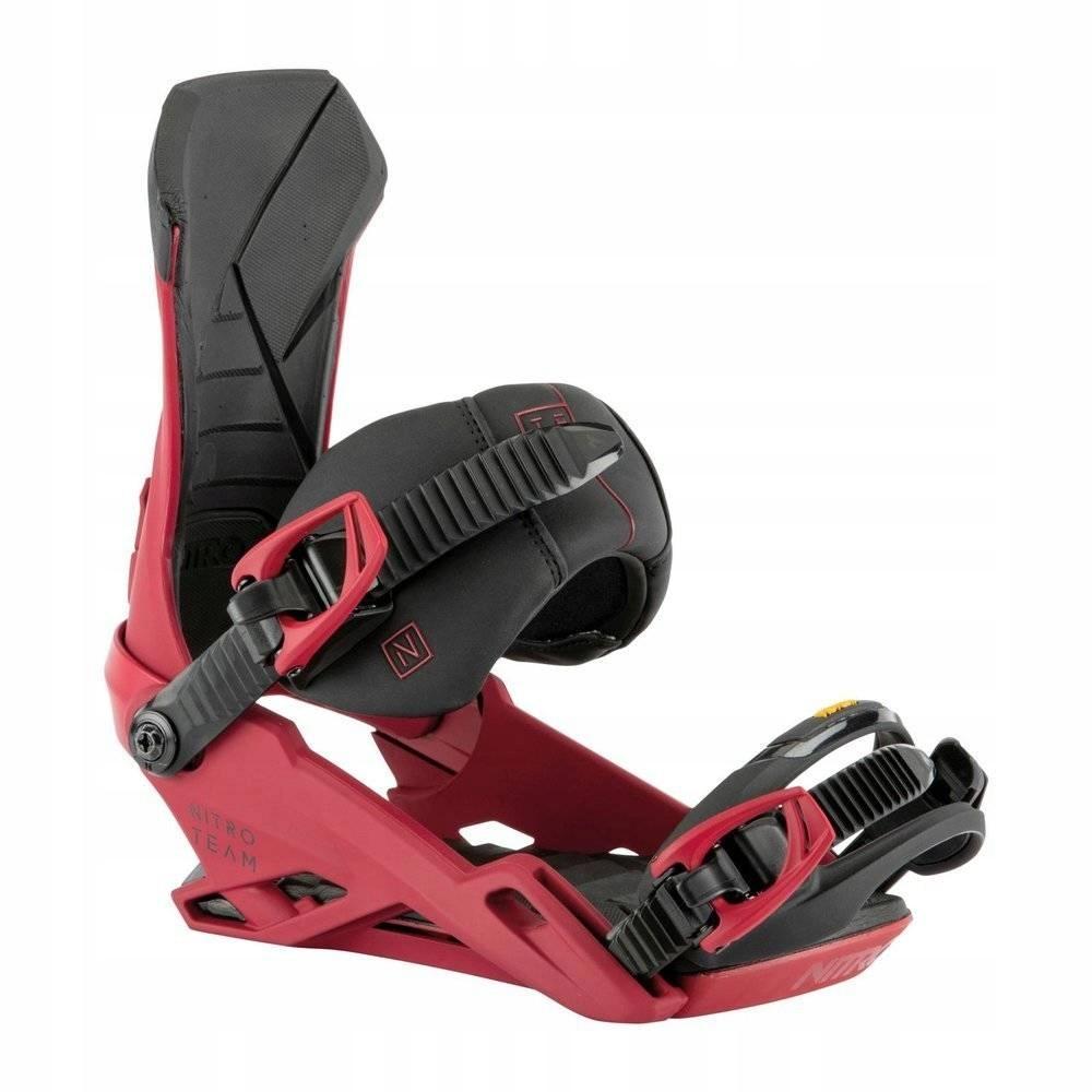 Wiązania NITRO TEAM snowboardowe r. 38,5 - 43,5