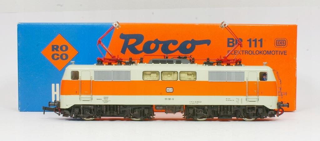Roco Lokomotywa Elektrowóz BR 111 116-6 DB IV ep.