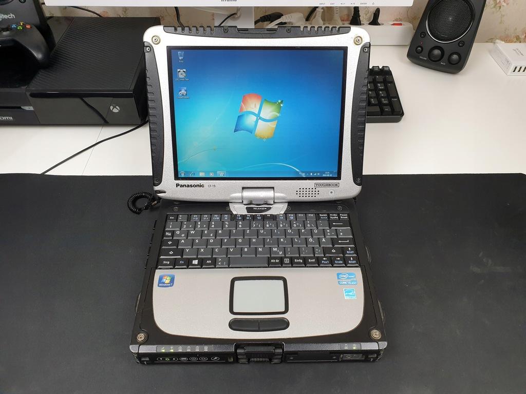 Panasonic CF-19 MK6 i5 3320M 4GB SSD RS232 3G W7