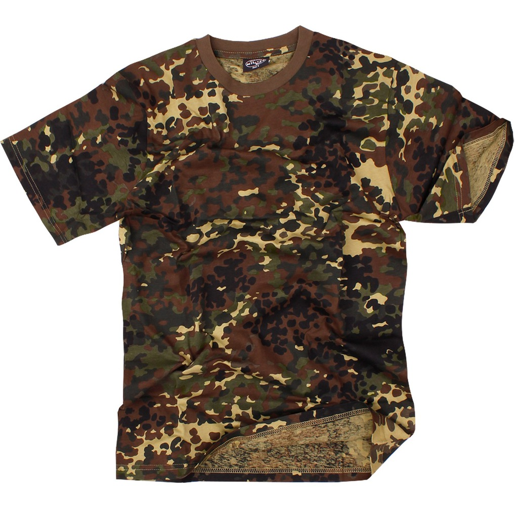 KOSZULKA T-Shirt Mil-Tec US ARMY BW FLECKTARN S