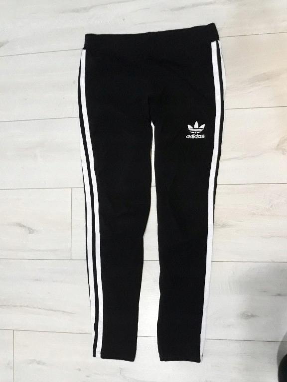 Leginsy getry dresowe Adidas spodnie L