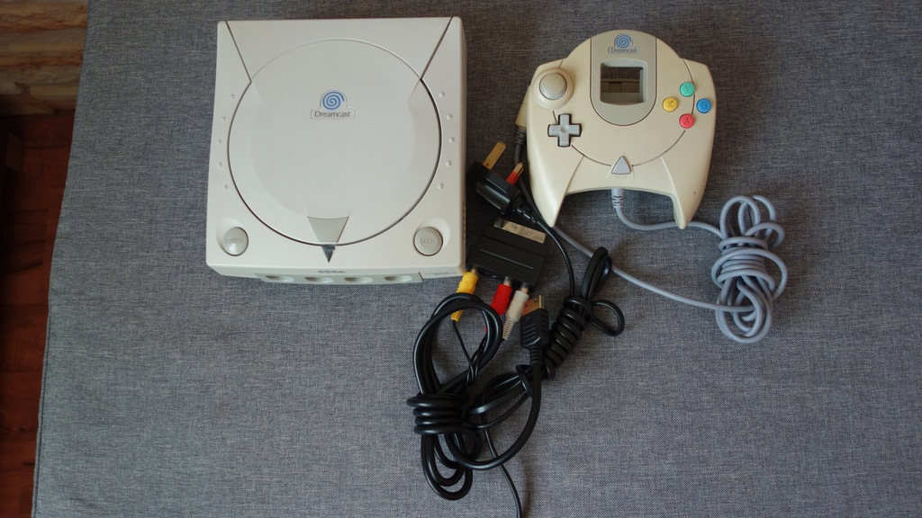 Sega Dreamcast Konsola