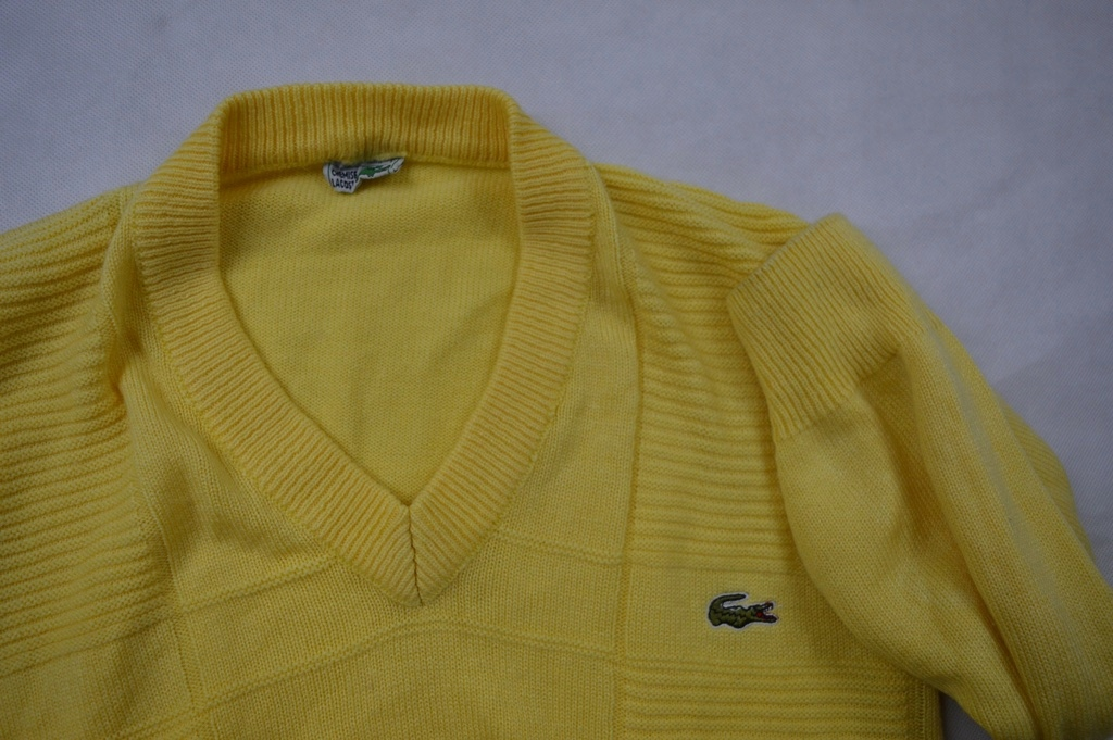 SWETER LACOSTE CHEMISE MADE IN FRANCE L IDEAL