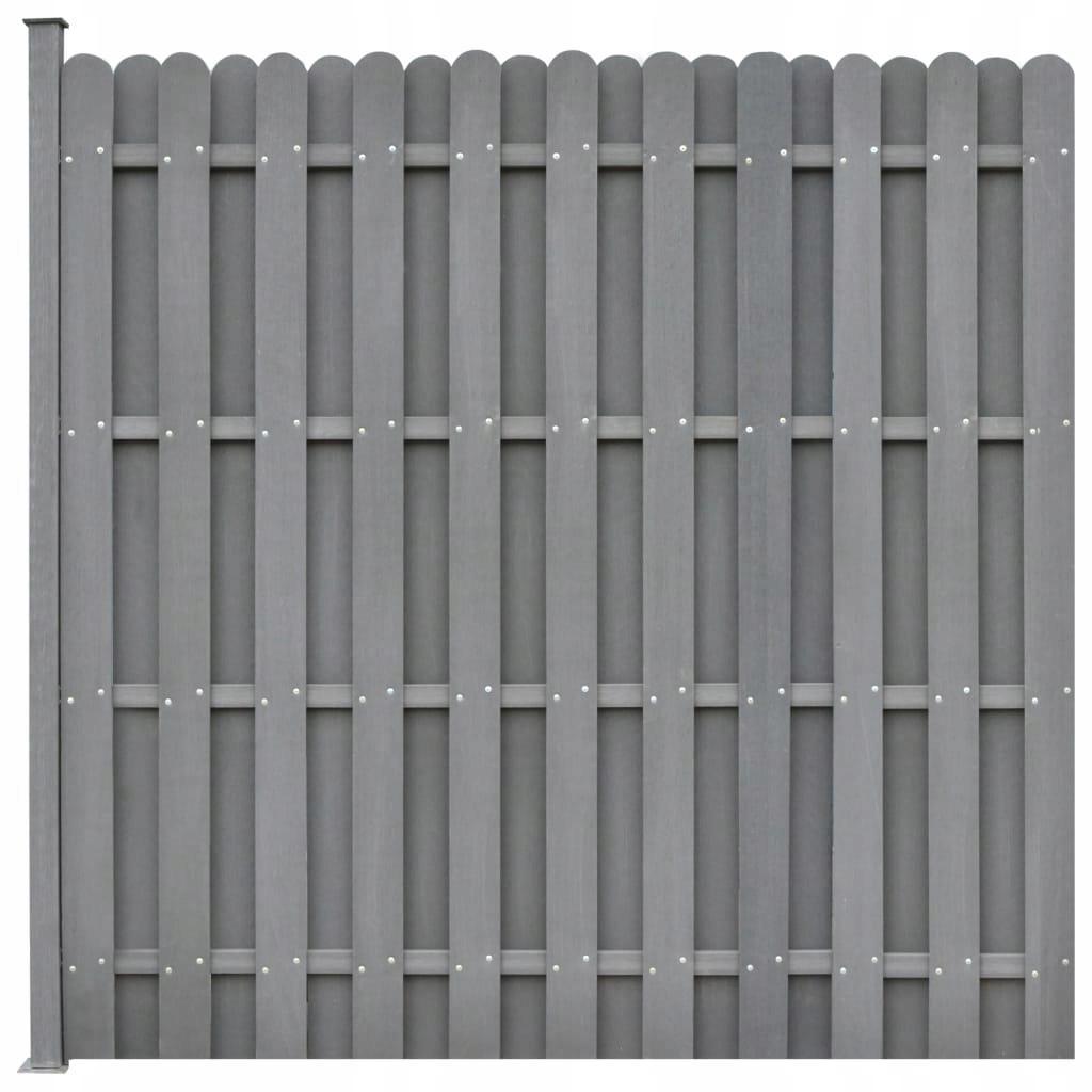 Zamienny panel ogrodzeniowy 180x180cm, kwadratowy,