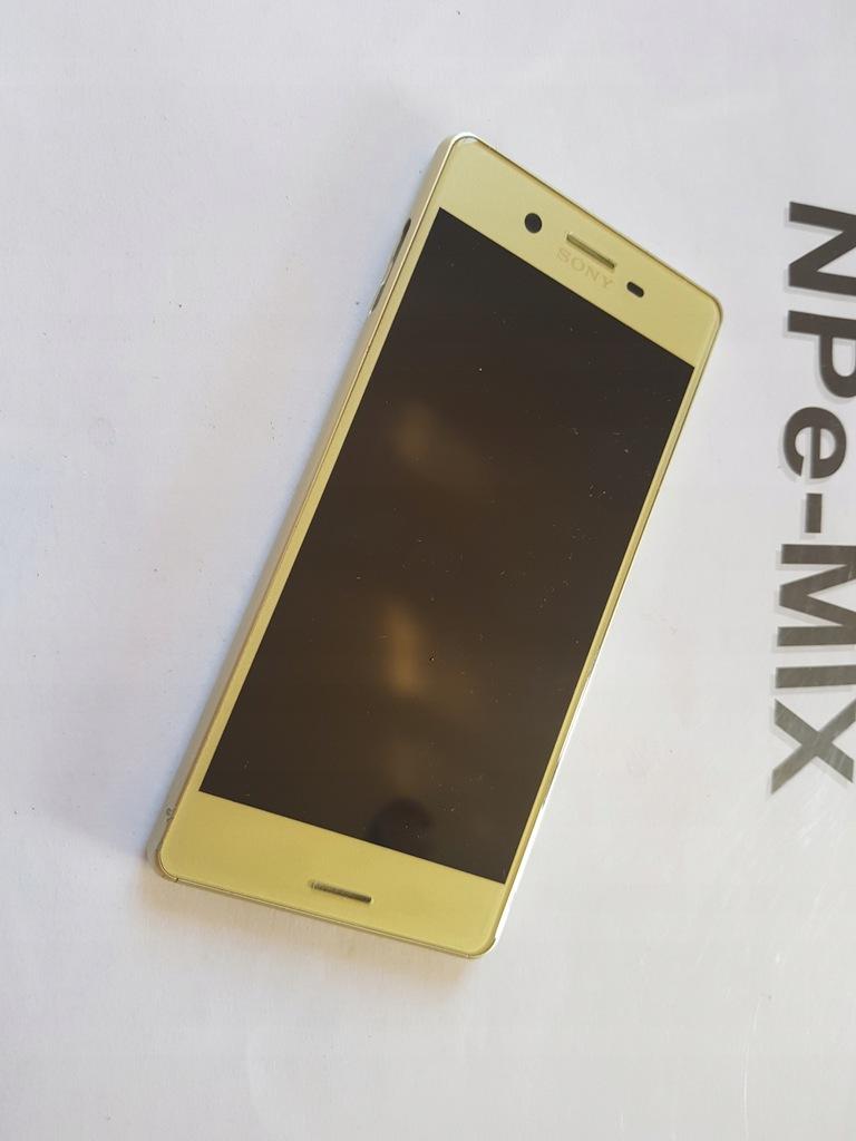 ORYG LCD ramka Sony Xperia X F5121 Złoty